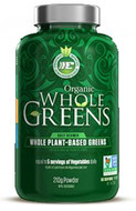 Ergogenics Nutrition Organic Whole Greens Powder 210 Grams