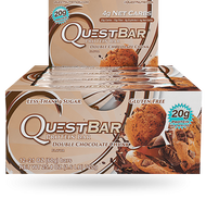 Quest Nutrition Double Chocolate Chunk Protien Bar Box of 12 x 60g