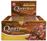 Quest Nutrition Chocolate Brownie Protien Bar Box of 12 x 60g