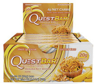 Quest Nutrition Banana Nut Muffin Protien Bar Box of 12 x 60g