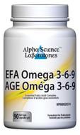 Alpha Science EFA Omega 3-6-9 - 90 Capsules