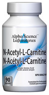 Alpha Science N-Acetyl-L-Carnitine 90 Veg Capsules