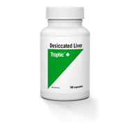Trophic Desiccated Liver 180 Capsules