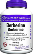 Preferred Nutrition Berberine 500 mg 120 Veg Capsules