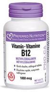 Preferred Nutrition Vitamin B12 Methylcobalamin 1000 mcg 90 Tablets