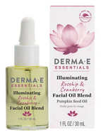 Derma e Illuminating Rosehip & Cranberry Face Oil 30 ml
