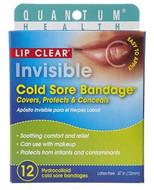 Quantum Health Lip Clear Invisible Cold Sore Bandage 12 Per Pack