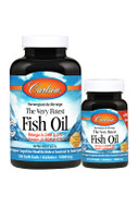 Carlson The Very Finest Fish Oil Lemon 150 Softgels