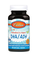 Carlson For Kids DHA 100 mg Orange 60 Chewable softgels