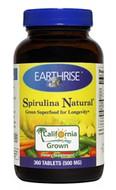 Earthrise Spirulina Natural 360 Tablets