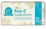 Carlson Key E Suppostories 24 Doses