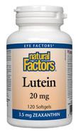 Natural Factors Lutein 20 mg 120 Softgels