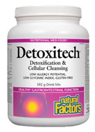 Natural Factors Detoxitech Detoxification & Cellular Cleansing 592 g Powder