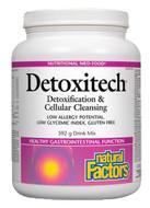 Natural Factors Detoxitech Detoxification & Cellular Cleansing 592 g Powder