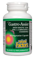 Natural Factors Gastro-Assist 60 Veg Capsules