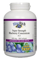 Natural Factors BlueRich 500 mg 180 Softgels