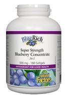 Natural Factors BlueRich 500 mg 180 Softgels