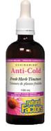 Natural Factors Anti-Cold Fresh Herb Tincture 100 ml