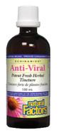 Natural Factors Anti-Viral Potent Fresh Herbal Tincture 100 ml