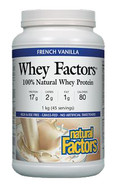Natural Factors Vegan Protein High Protein Formula Double Chocolate 1 kg