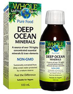 Whole Earth & Sea Deep Ocean Minerals 100 ml By Natural Factors