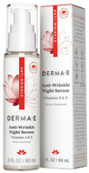 Derma e Anti-Wrinkle Night Serum 57g (2 Oz)