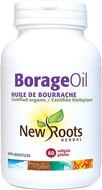 New Roots Borage Oil 1000 mg 60 Softgels