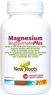 New Roots Magnesium Bisglycinate Plus 150 mg 120 Veg Capsules