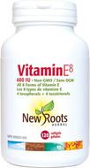 New Roots Vitamin E8 400 IU 120 Softgels