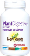 New Roots Plant Digestive Enzymes 375 mg 60 Veg Capsules