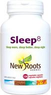 New Roots Sleep8 120 Veg Capsules