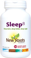 New Roots Sleep 8 120 Veg Capsules