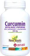 New Roots Curcumin 500 mg 90 Veg Capsules