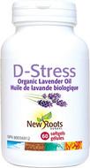 New Roots D-Stress 60 Softgels