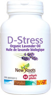 New Roots D-Stress 60 Softgels