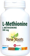New Roots L-Methionine 500 mg 50 Veg Capsules