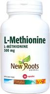 New Roots L-Methionine 500 mg 50 Veg Capsules