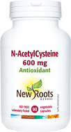 New Roots N-AcetylCysteine 600 mg 90 Veg Capsules