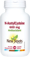 New Roots N-AcetylCysteine 600 mg 180 Veg Capsules