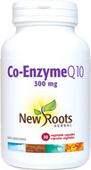 New Roots Co-Enzyme Q10-300 mg 30 Veg Capsules