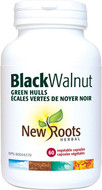 New Roots Black Walnut Green Hulls 150 mg 60 Veg Capsules