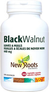 New Roots Black Walnut Leaves & Hulls 440 mg 100 Veg Capsules