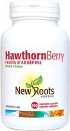 New Roots Hawthorn Berry 500 mg 100 Veg Capsules