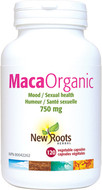 New Roots Maca 750 mg Certified Organic 120 Veg Capsules