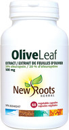 New Roots Olive Leaf Extract 500 mg 60 Veg Capsules