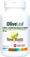 New Roots Olive Leaf Extract 500 mg 120 Veg Capsules