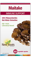 New Roots Maitake 400 mg 60 Veg Capsules