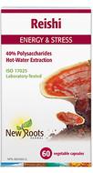 New Roots Reishi 500 mg 60 Veg Capsules