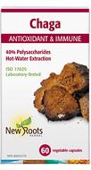 New Roots Chaga 350 mg 40% polysaccharides 60 Veg Capsules