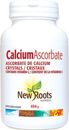 New Roots Calcium Ascorbate Crystals 454 g